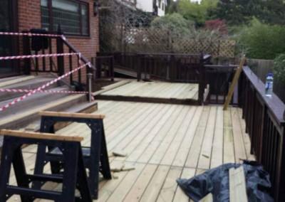 Deck Restoration Work