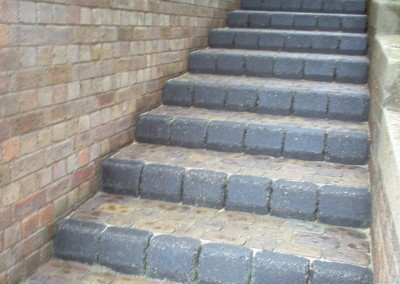 Paved Steps After